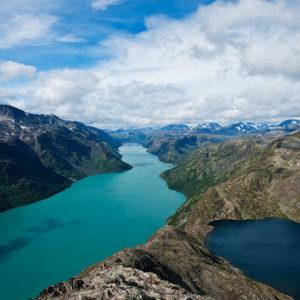 """Løberejse<br>Norge """"Jotunheimen""""<br>1. september – 5. september 2021"""